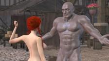 Stone Sorceress – Large Tit bang