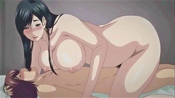 Auntie fucks her transgender niece | Anime Manga porn