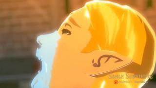 3D Manga porn Legend of Zelda Breath of the Wild and Hyperlink