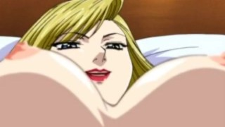 Big-boobed anime porn blonde fucked from behind